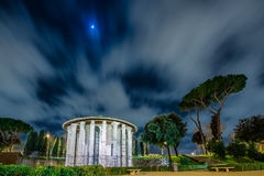 Night scende in the Rome Stock Image