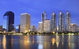 Night scene of Bangkok Stock Photos