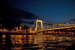 Night Scene in Budapest,Hungary Royalty Free Stock Images