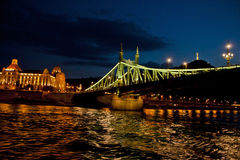 Night Scene in Budapest,Hungary Stock Photos
