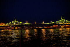 Night Scene in Budapest,Hungary Stock Photo