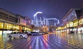 Night scene of century city Royalty Free Stock Photography