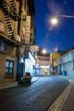 Night scene in China town New York City Stock Photos