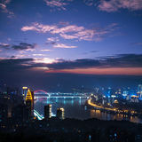 Night scene of Chongqing Stock Image