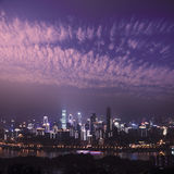 Night scene of Chongqing Royalty Free Stock Image