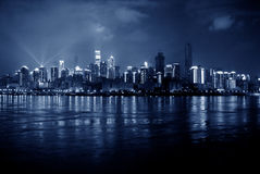 Night scene of chongqing Stock Photos