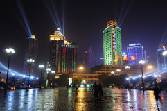 Night Scene of Chongqing port Stock Photography