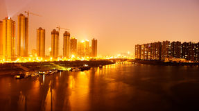 Night scene of city Stock Photo