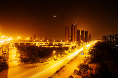 Night scene of city Stock Photo
