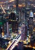 Night scene cityscape royalty free stock photo