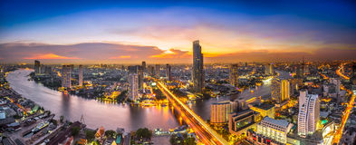 Night scene cityscape Stock Photo
