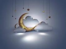 Night scene design Stock Photography