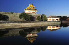 Night scene of forbidden city Royalty Free Stock Photography
