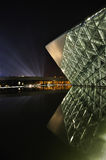 Night scene of Guangzhou Opera Royalty Free Stock Photo
