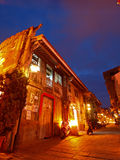 Night Scene of Hai-an Art Street in Tainan, Taiwan Stock Images
