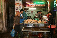 The night scene in hanoi,vietnam Royalty Free Stock Photos