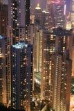 Night scene of HongKong Stock Photo