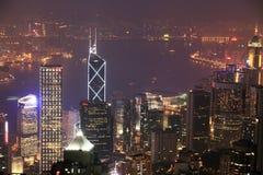 Night scene of HongKong Stock Image