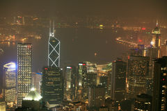 Night scene of HongKong Stock Images