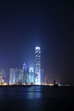 Night scene of Hongkong Royalty Free Stock Photos