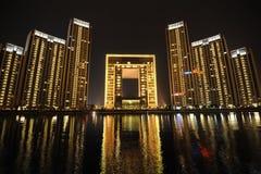 Free Night Scene In Tianjin Stock Photo - 25243500