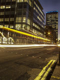 Night scene of london Stock Photo
