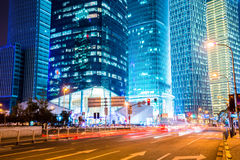 Night scene of modern city Royalty Free Stock Photo