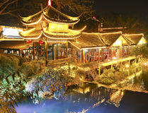 Night scene in mount emei,china Stock Photos