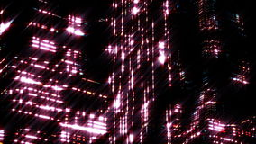 Night scene of night city. Loopable. HD Night scene of night city. Loopable stock video