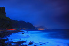 Night Scene of North Taiwan Royalty Free Stock Photo