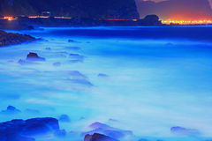 Night Scene of North Taiwan Royalty Free Stock Photography