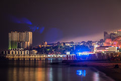 Night scene of odessa Royalty Free Stock Photos