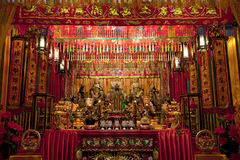 Free Night Scene Of A Grand Taoist Temple Royalty Free Stock Photo - 27635895
