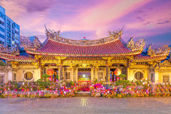 Free Night Scene Of Longshan Temple Stock Photography - 77416292