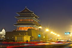 Night Scene Of Qianmen Royalty Free Stock Photos