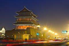 Night scene of Qianmen Royalty Free Stock Photos