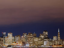 Night Scene in San Francisco Royalty Free Stock Photography