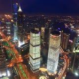 Night scene of shanghai Royalty Free Stock Image