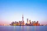 Night scene of shanghai Stock Photos