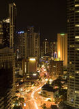 Night scene Surfers Paradise Gold Coast Australia Royalty Free Stock Photos