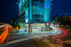 Night scene of Taichung Royalty Free Stock Photos