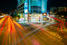Night scene of Taichung Royalty Free Stock Images