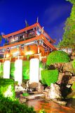 Night Scene of Tainan Chihkan Tower in Taiwan Stock Images