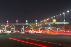 Toll station Stock Photos