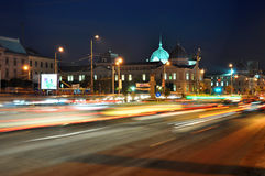 Bucharest night scene 10 Stock Images