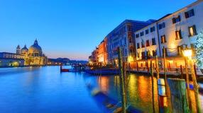 Night scene, Venice Royalty Free Stock Images