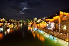 Night scene of Wuzhen Royalty Free Stock Photography