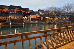 Night scene of Wuzhen Royalty Free Stock Photo