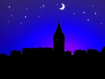 Night Scenery Royalty Free Stock Photography