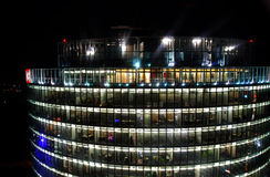 Night scenery Berlin royalty free stock images